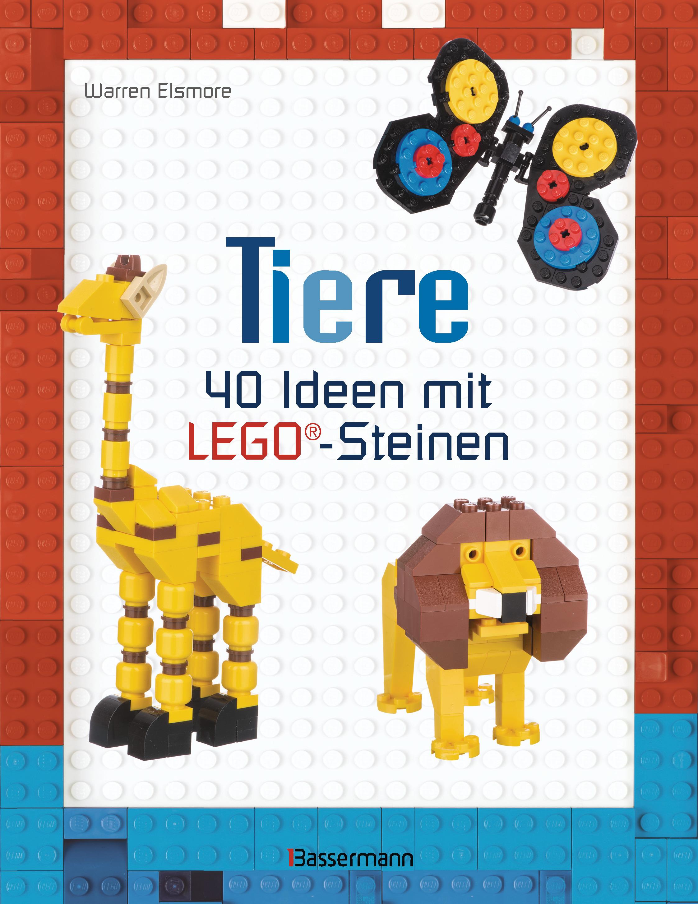 warren elsmore: tiere 40 ideen mit lego®-steinen -( werbung